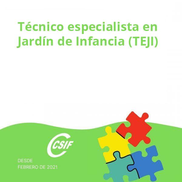 Técnico Especialista en Jardín de Infancia (TEJI)