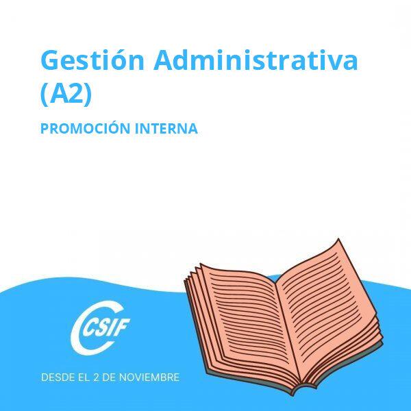 Promoción Interna Gestión Administrativa (A2)