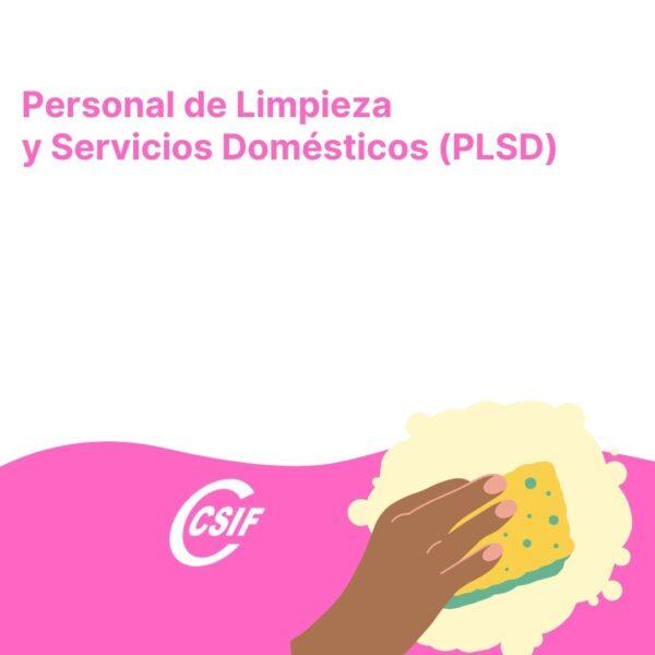Personal de Limpieza y Servicios Domésticos (PLSD)
