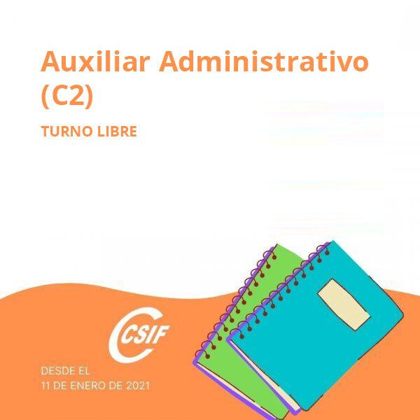 Turno Libre Auxiliar Administrativo (C2)
