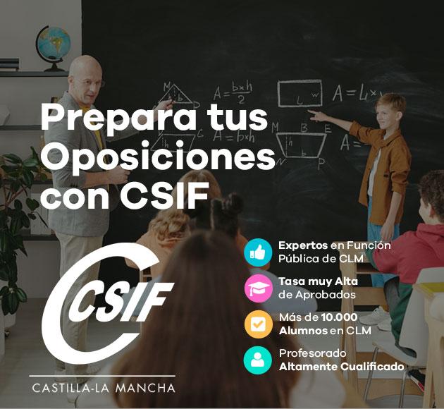prepara tus oposiciones con CSIF