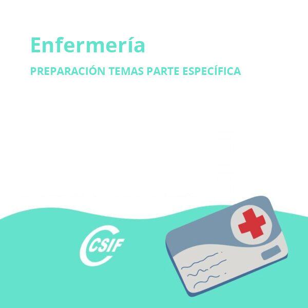 Enfermería (Temas parte específica)