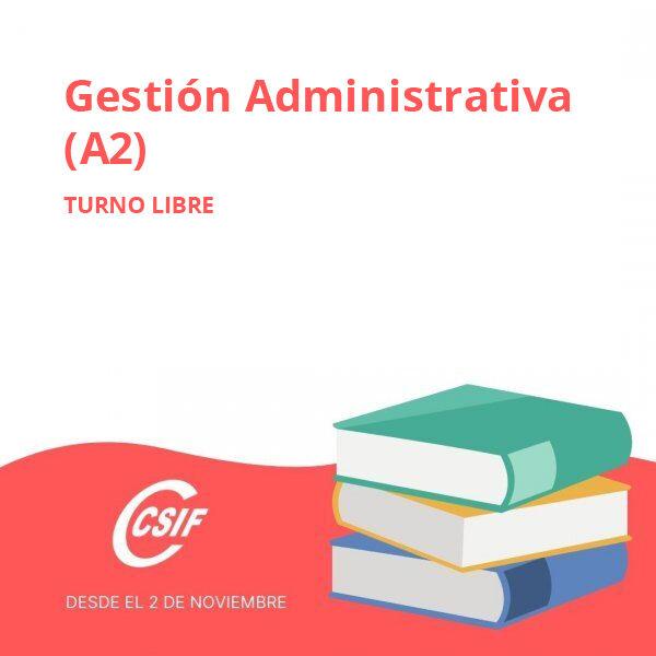 Turno Libre Gestión Administrativa (A2)