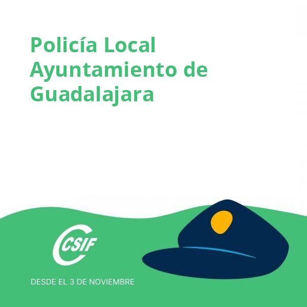 Policía Local Ayuntamiento de Guadalajara