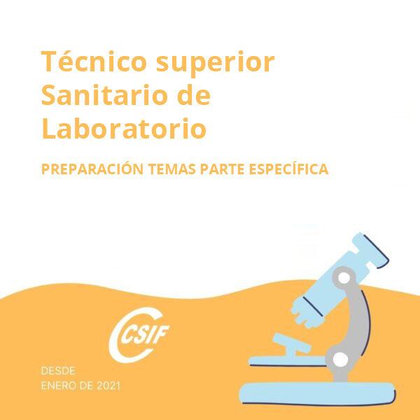 Técnico Superior Sanitario de Laboratorio (TEL) (Temas parte específica)